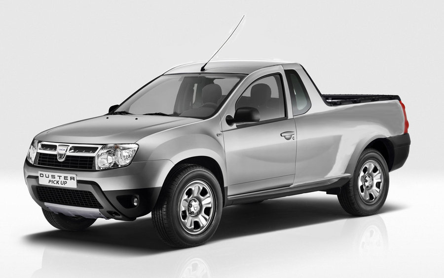 dacia pick up duster pick up asul din maneca constructorului autohton pentru 2014. Black Bedroom Furniture Sets. Home Design Ideas