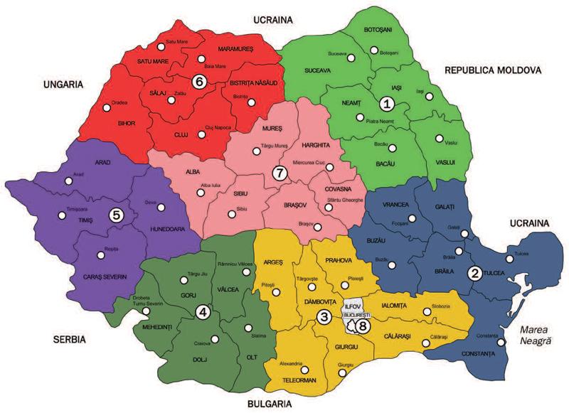 Romania Ar Putea Fi Impartita In Opt Regiuni