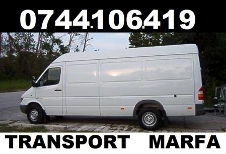 Anunt Imagine - TRANSPORT MOBILA SI MARFA DE ORICE FEL 0744106419