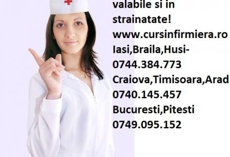 Anunt Imagine - Ocazie Cursuri infirmiere la numai 450lei