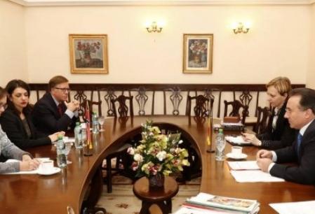 Ambasadorul Norvegiei, in vizita la Palatul Roznovanu