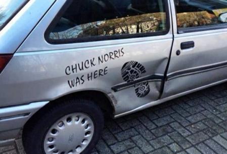 Chuck Norris a fost aici